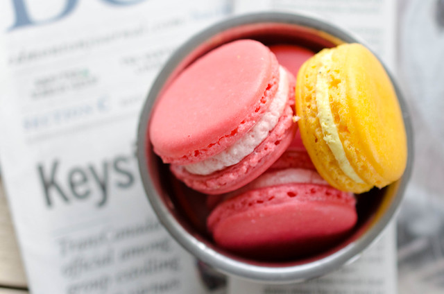 Indian Style Macarons