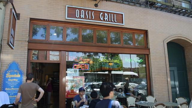 Oasis Grill, Berkeley