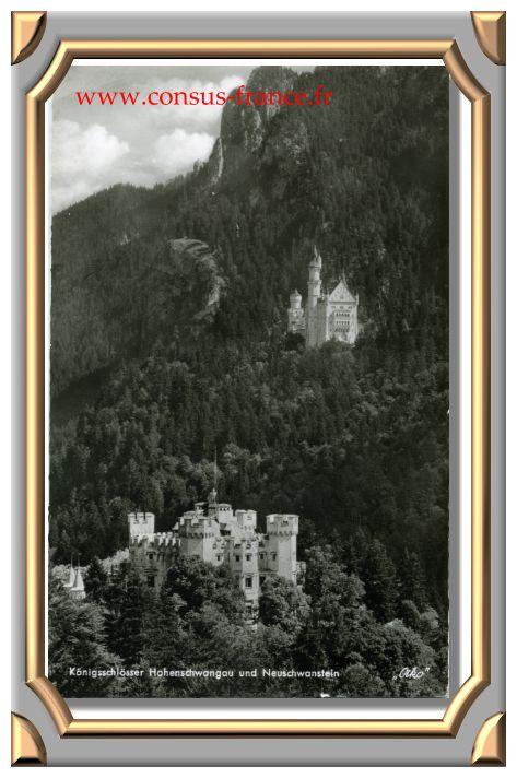 Allgäu Die Königsschlösser Hohenschwangau und Neuschwanstein-70-150