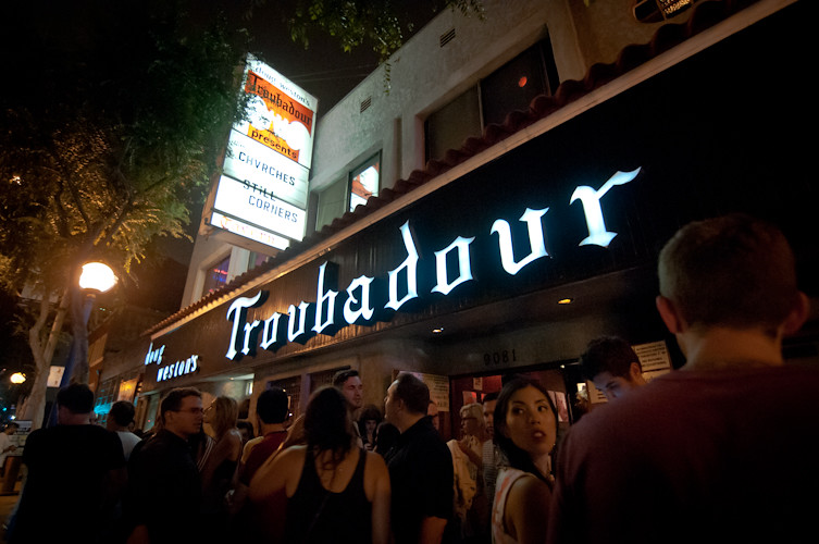 CHVRCHES at The Troubadour