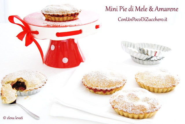Mini Pie Mele e Amarene 1