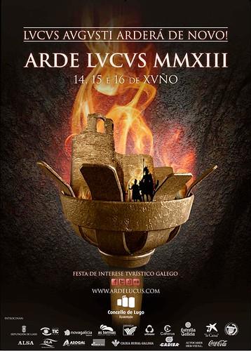 Lugo 2013 - Arde Lucus MMXIII - cartel