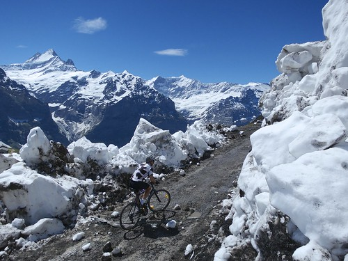 Cycling through Avalanche Debris ... nearing First