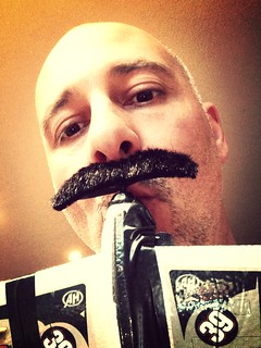 Day 169 of 365 - Mile high mustache