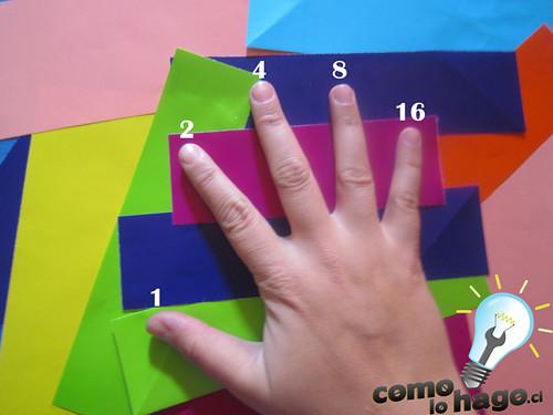 Cómo contar hasta 31 con una sola mano.
