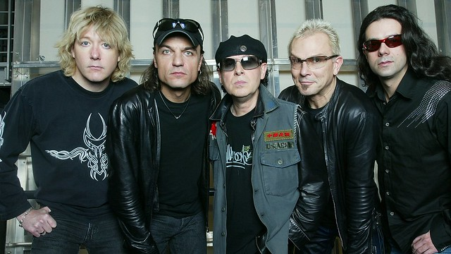 Scorpions para MTV