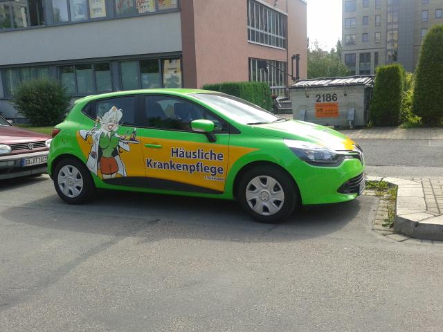 Häusliche Altenpflegeautos mal anders