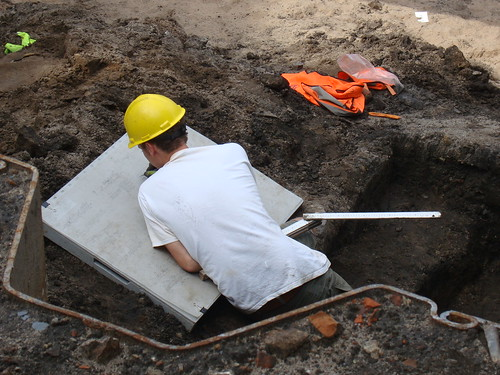 Archaeology in Deventer, NL