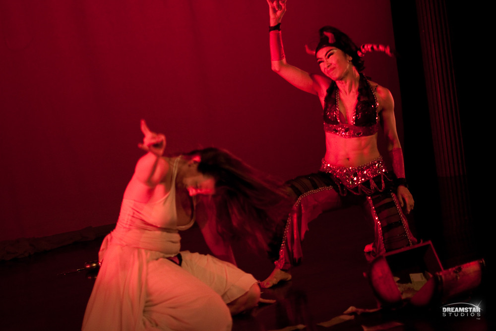 Anasma and Zoe Anwar- PANDORA BOX AT NY THEATRICAL BELLYDANCE CONFERENCE BY BRIAN FEISTER IMG_7500