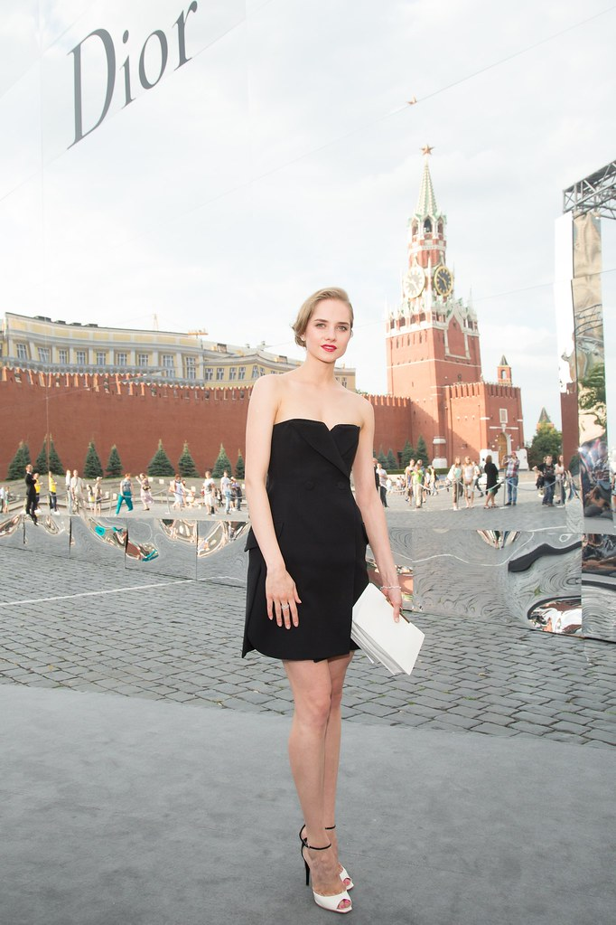 Maria Semenyachenko - Photo Viktor Boyko Dior Moscow 2013