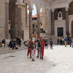Roman soldiers, Split