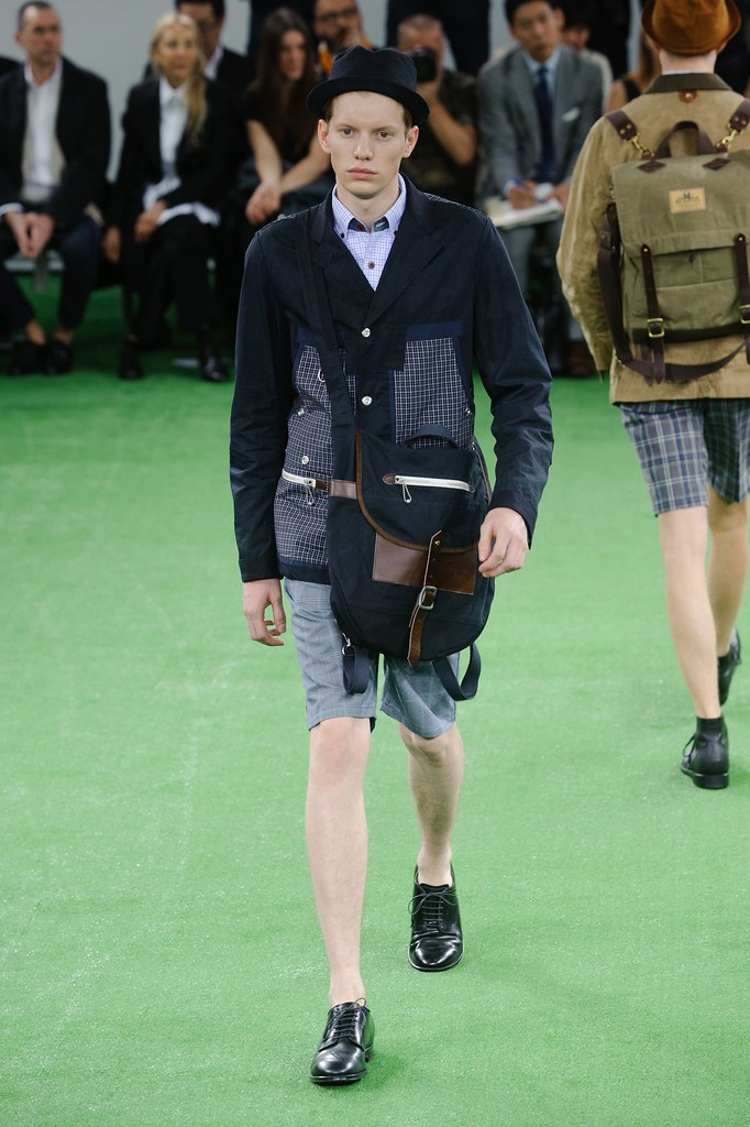 SS14 Paris Junya Watanabe002_Ollie Mann(fashionising.com)