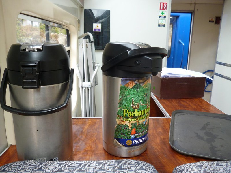 Drink station on Expedition class train