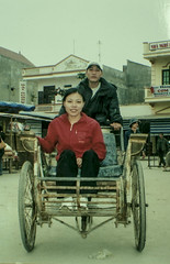 rickshaw, vehicle, mode of transport, carriage, cart, sitting,