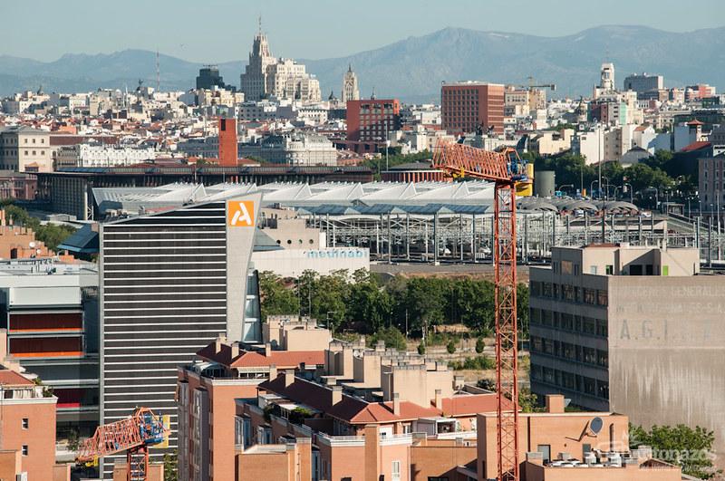 Fotos de los tejados de Madrid como nunca habías visto