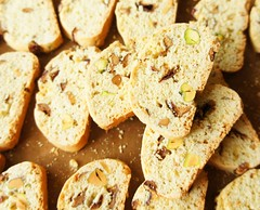 Biscotti with Korean Jujube and Pistachio 26