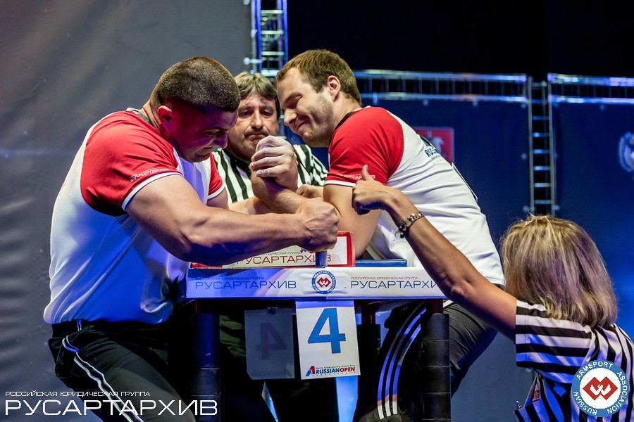 Andrey Pushkar vs. Ivan Matyushenko│ A1 RUSSIAN OPEN 2013, Photo Source: armsport-rus.ru
