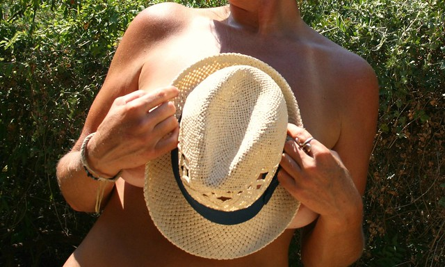 Never without your hat under the sun...~