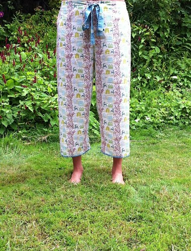 PJ capris by Poppyprint