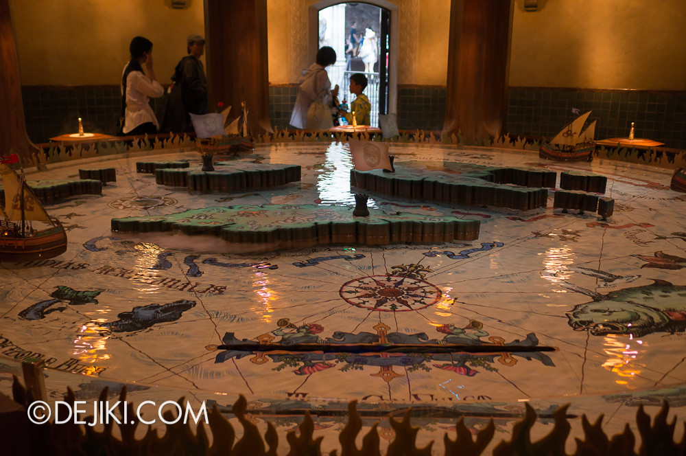 Tokyo DisneySea - Mediterranean Harbor / Fortress Explorations / Navigation Room