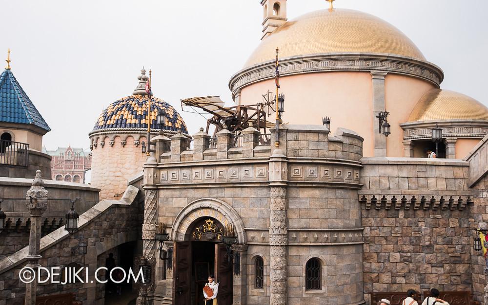 Tokyo DisneySea - Mediterranean Harbor / Fortress Explorations / Above Magellan's