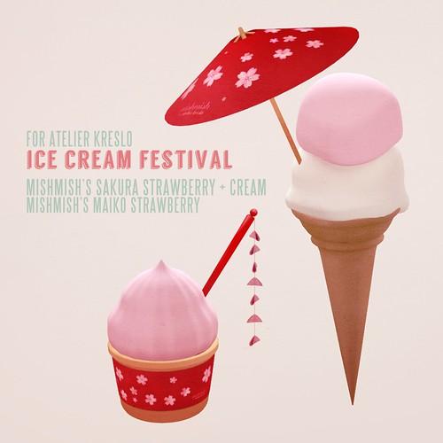 Atelier Kreslo Ice Cream Festival