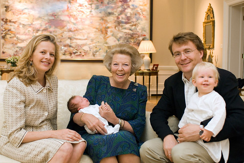 Prince Friso and family