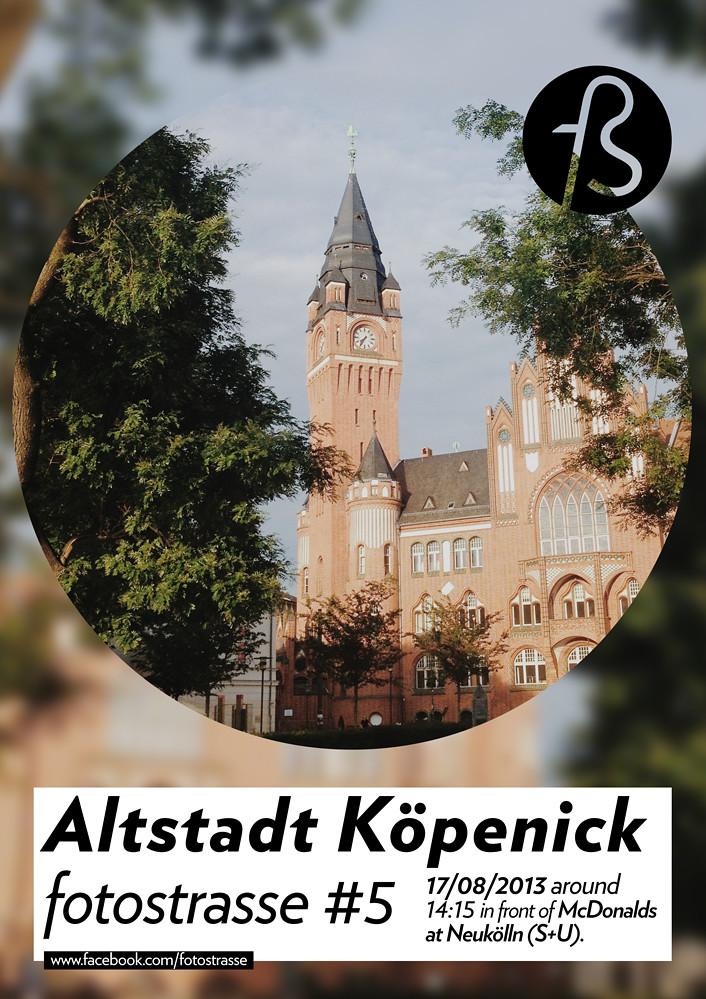 Fotostrasse #5 - Altstadt Köpenick