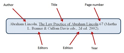 Book Citation Example