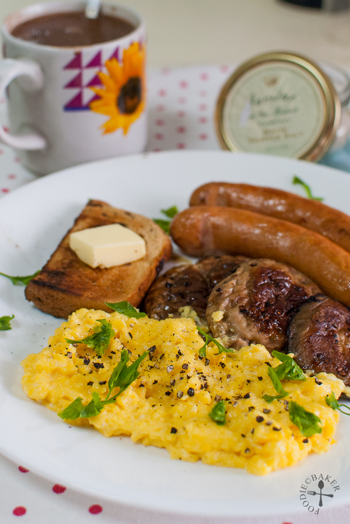 Truffle Scrambled Eggs