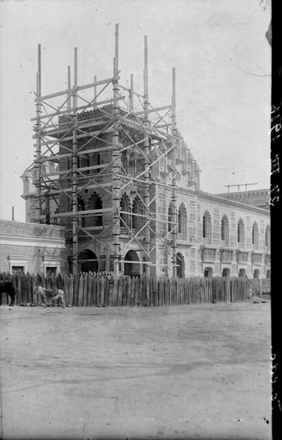 Estación de ferrocarril de Toledo el 27 de diciembre de 1916  © Archivo Histórico Ferroviario del Museo del Ferrocarril de Madrid. Fotografía de F. Salgado. Signatura 0444-IF MZA 0-2