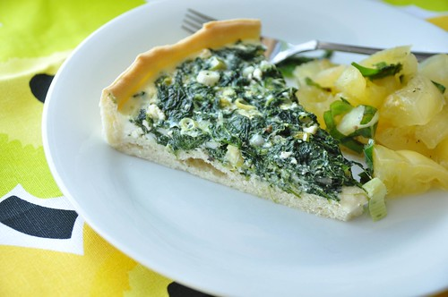 a lovely spinach tart