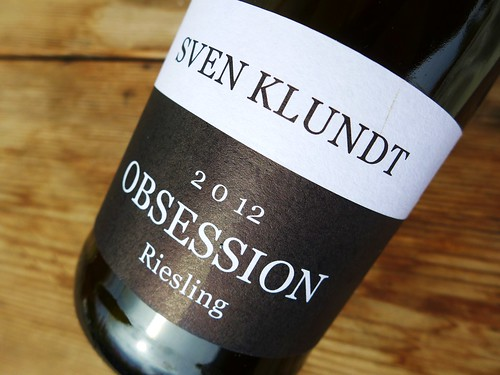 Sven Klundt Obsession Riesling 2012