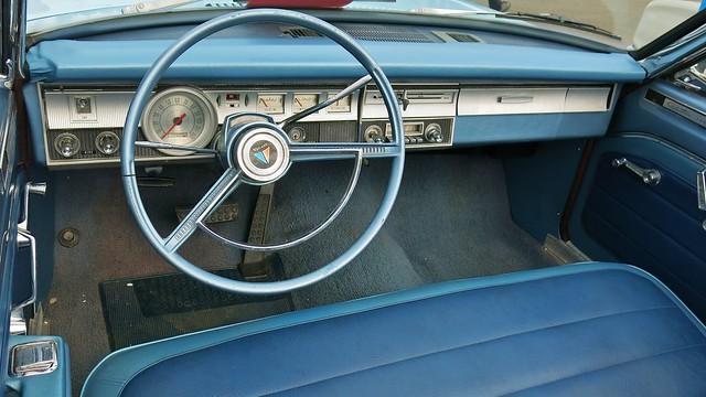 1965 Plymouth Valiant Custom 200 Convertible / Interior ...