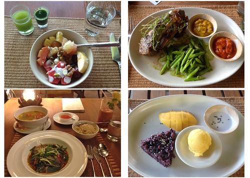 Kamalaya Koh Samui food shots