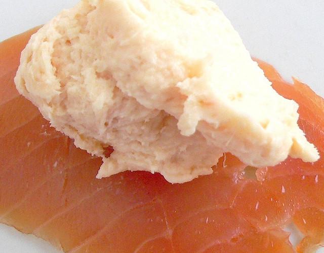 Burro al Salmone col Bimby