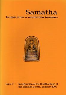 Samatha Journal, Issue 7