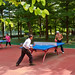 Small photo of Play table tennis in the park