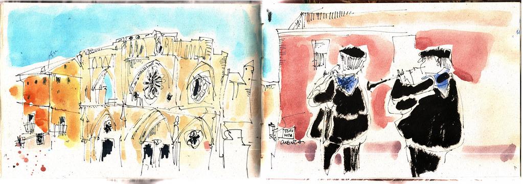 dibujando en Cuenca