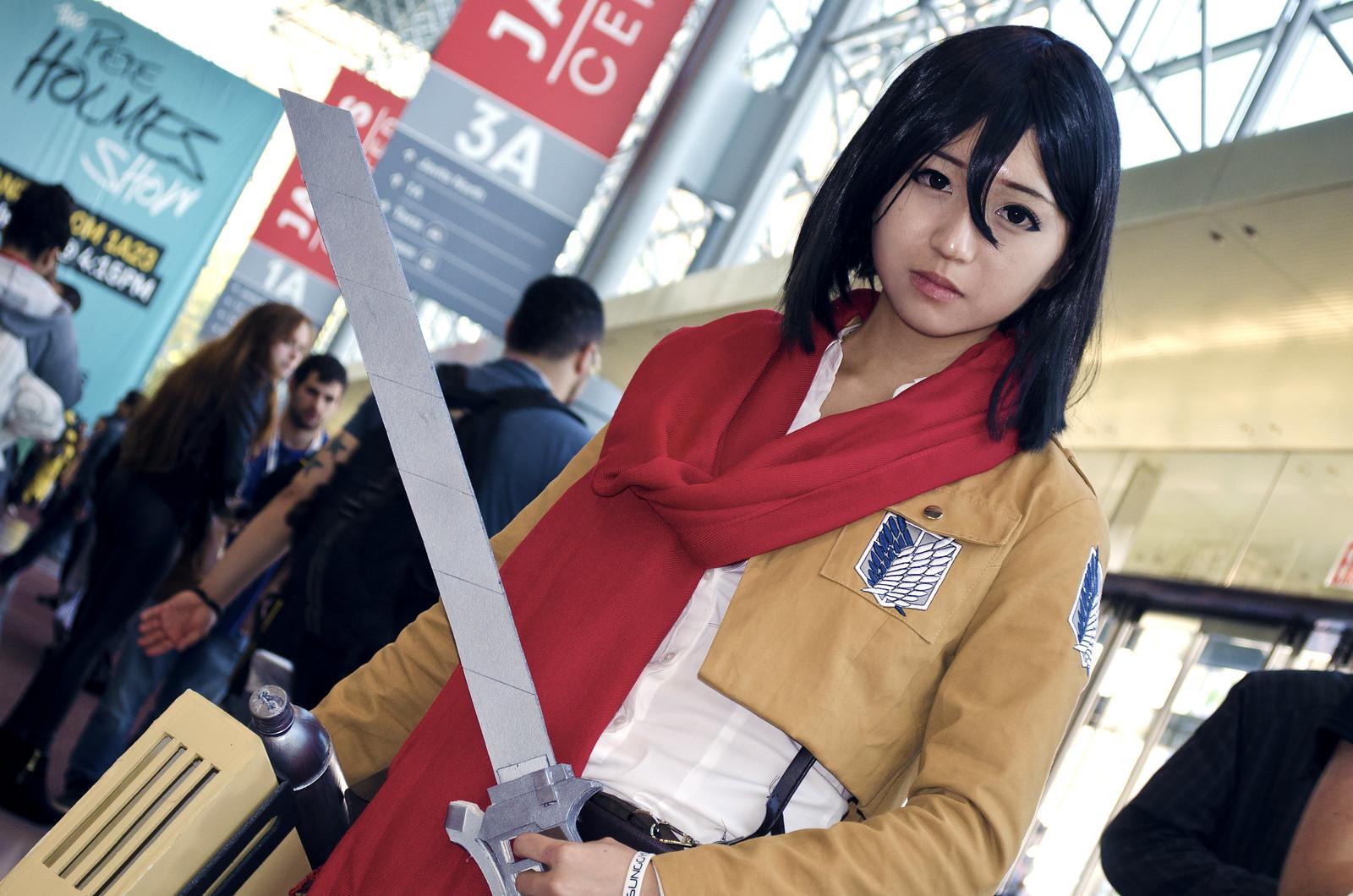 NYCC 2013 Mikasa Cosplay