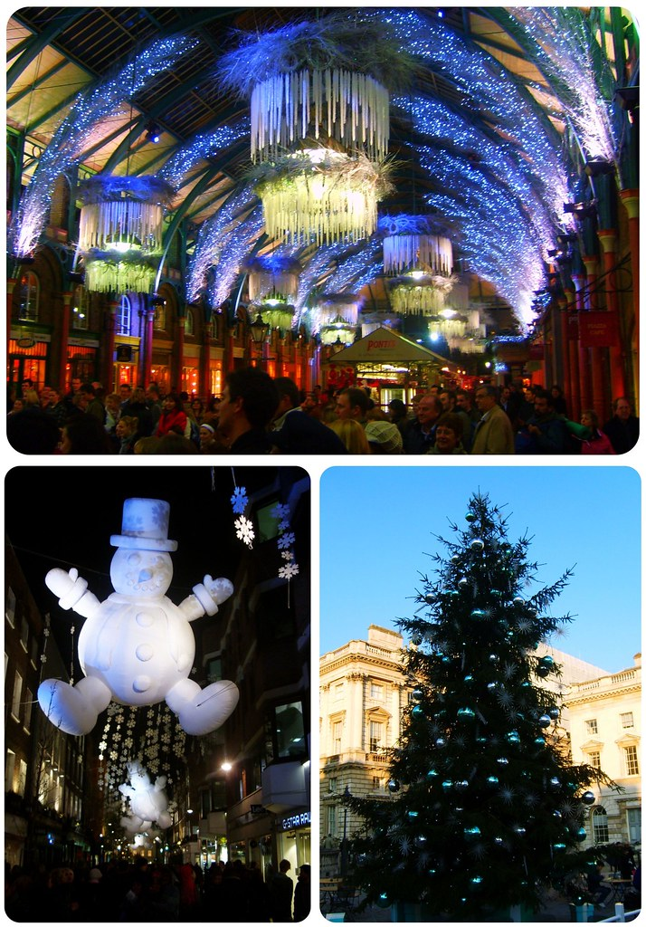 London Christmas lights & Tree