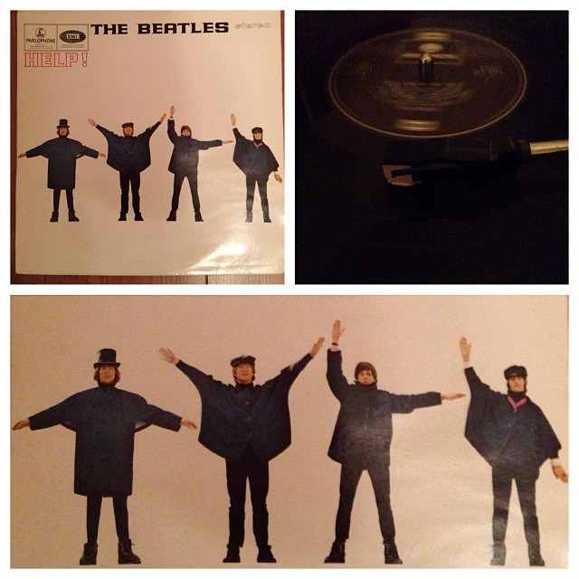 "051113_ #np ""Help!"" by The Beatles #vinyl"