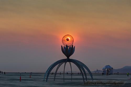 Sunrise juxtaposition