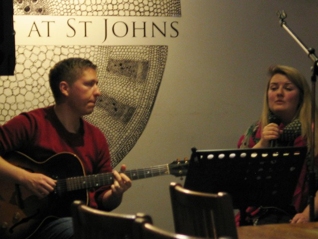 Music from Tea for Two at Shore Poets October