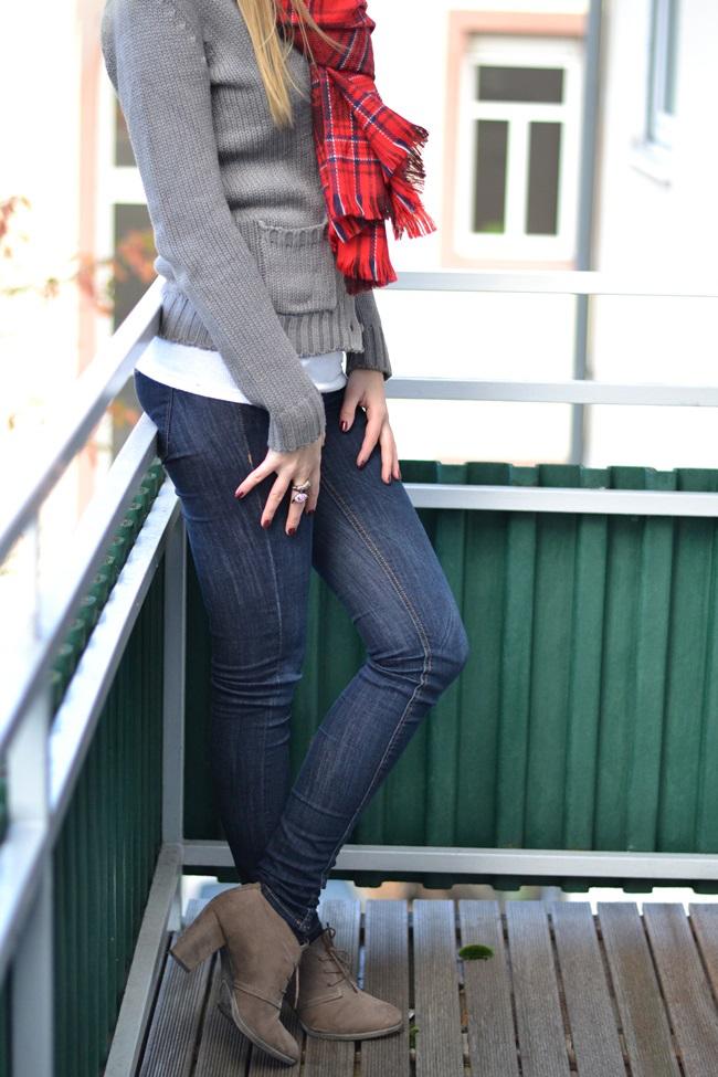Outfit Schal H&M Tartan (2)