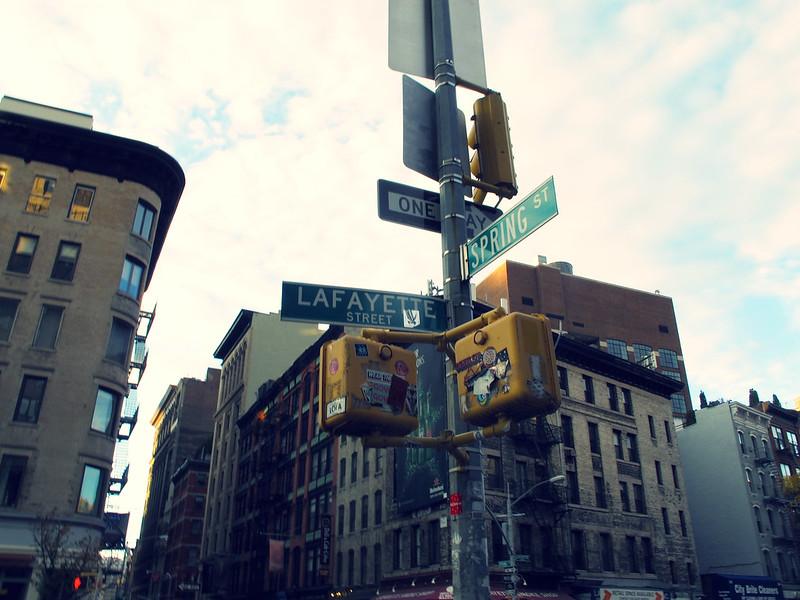 New York November 2013