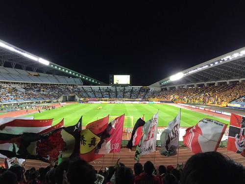 Jリーグ第31節 宮城スタジアム アウェー ベガルタ仙台戦