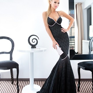 #dress#longdress#blackdress#blonde#photoshoot#lookbook#style#