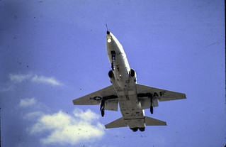 T-38 Landing at Vance AFB 1970.