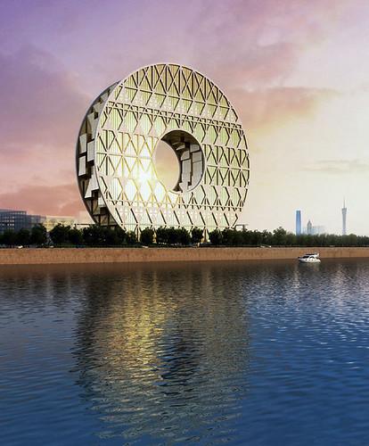 AM Project 建築師事務所 - Guangzhou Circle 廣州圓大廈